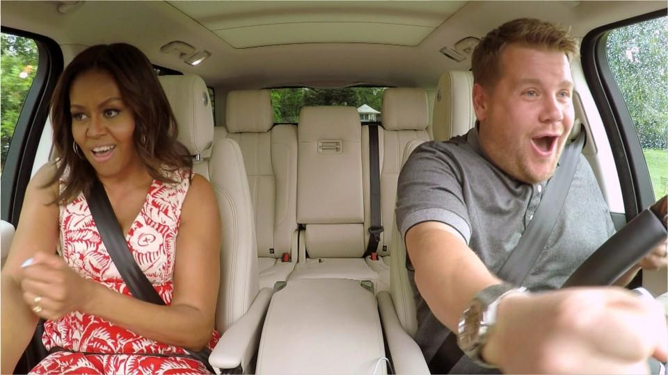 James Corden Still Can't Believe He Met Michelle Obama