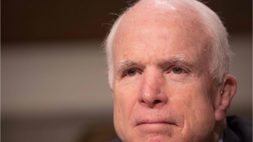 Sen. John McCain Blasts Congress Over Botched Investigation