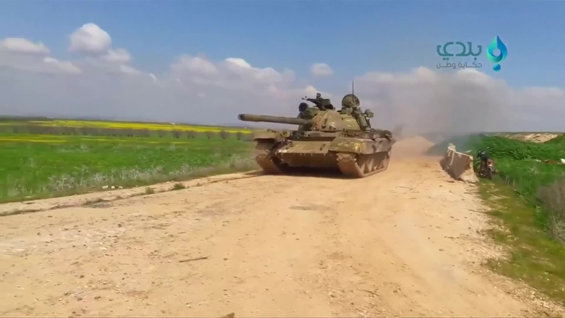 Syrian rebels launch major assault near Hama - amateur videos