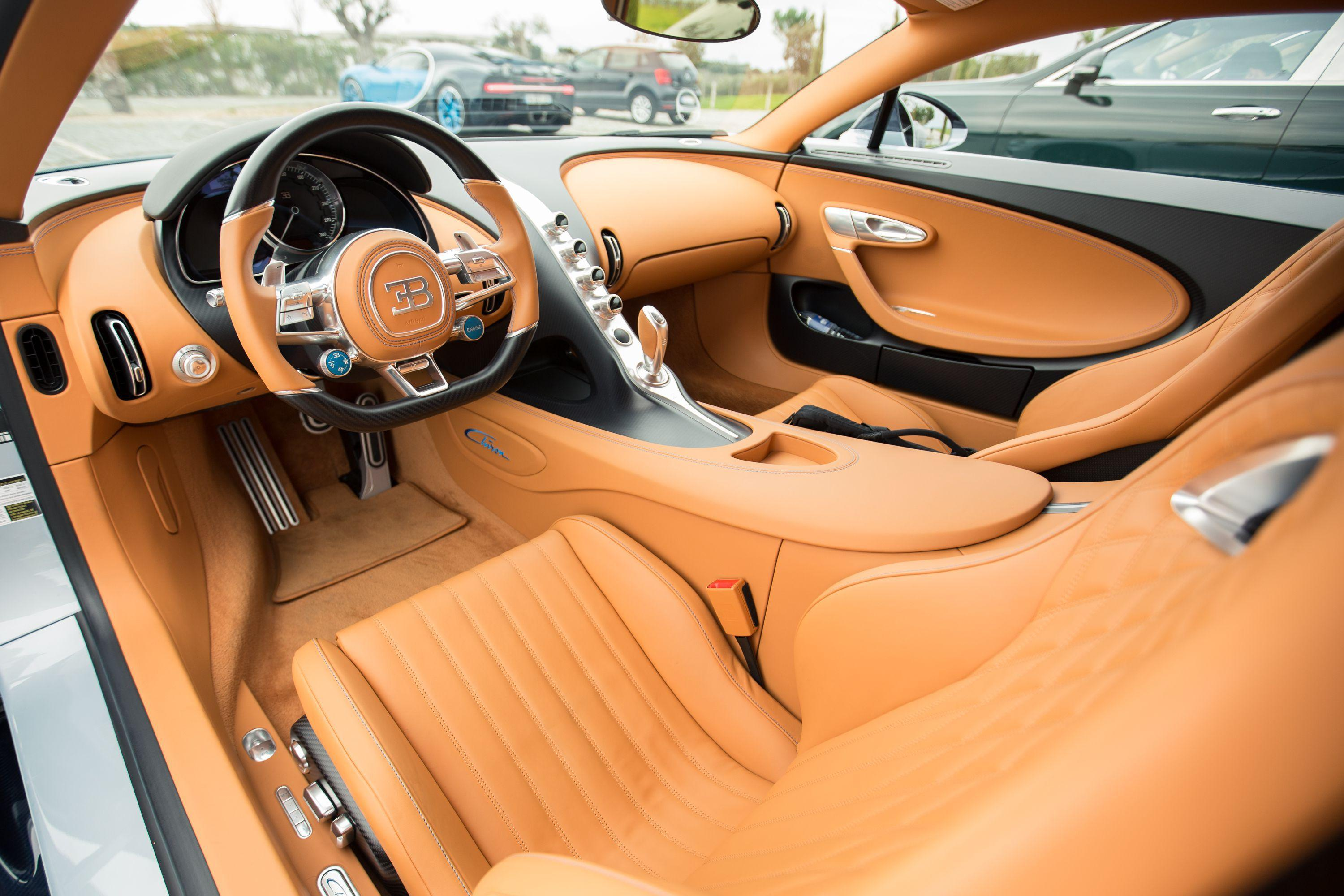 Deep dive: Take a look at the tech in the Bugatti Chiron