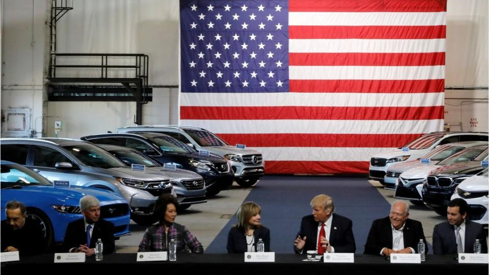 Trump's Auto Review Slows March To Better Fuel Efficiency