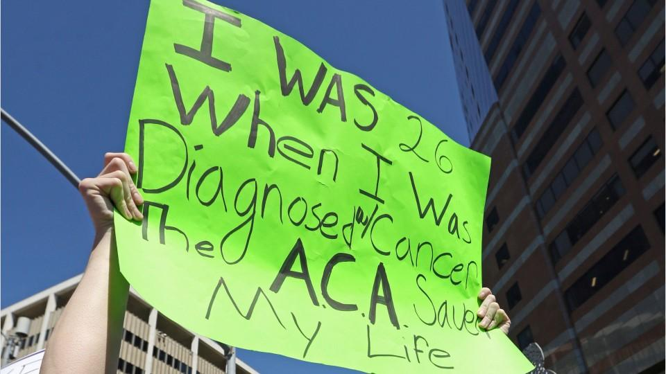 Obamacare Supporters Rally Against Repeal Efforts