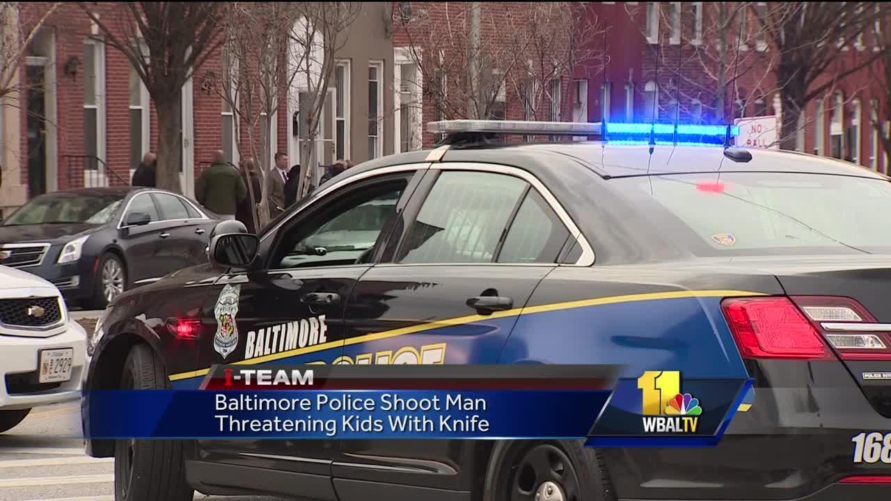 Video: BPD shoots man threatening kids with knife