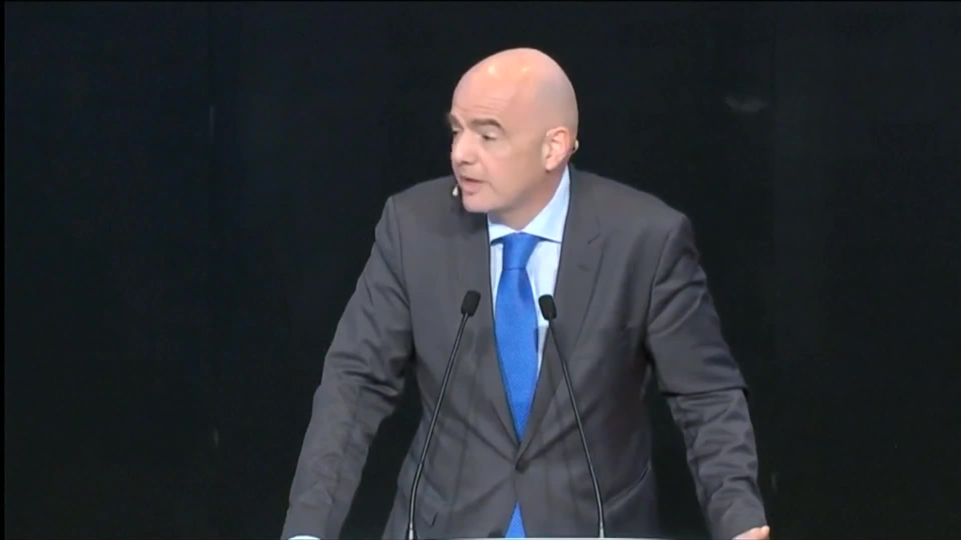 Infantino says more team qualifying for World Cup changes the players' mindsets