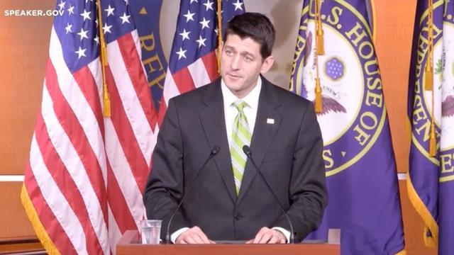 Paul Ryan On Pulling Health Care Bill: 'We Came Up Short'