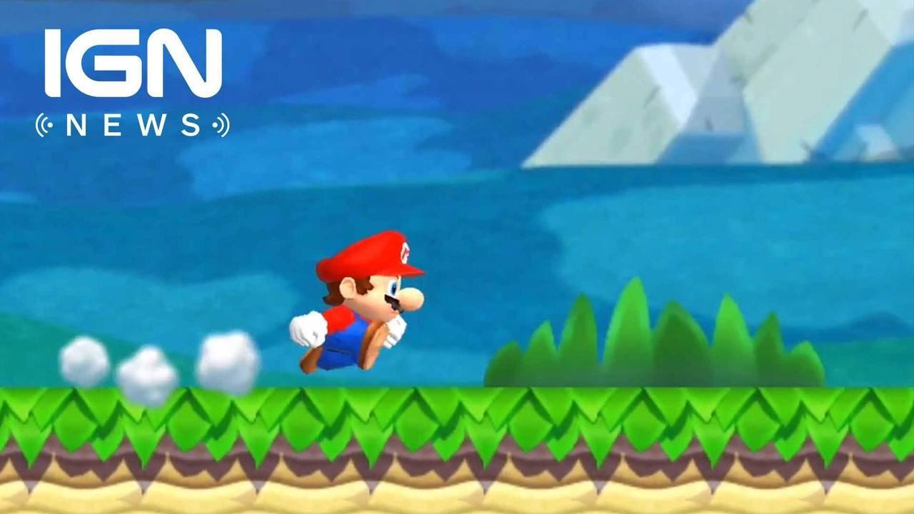 Nintendo: Super Mario Run Sales Didn't Meet Expectations