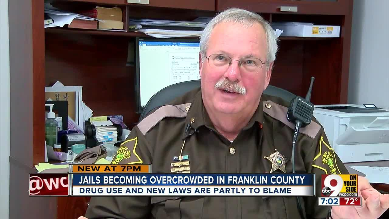 Jails becoming overcrowded in Franklin County