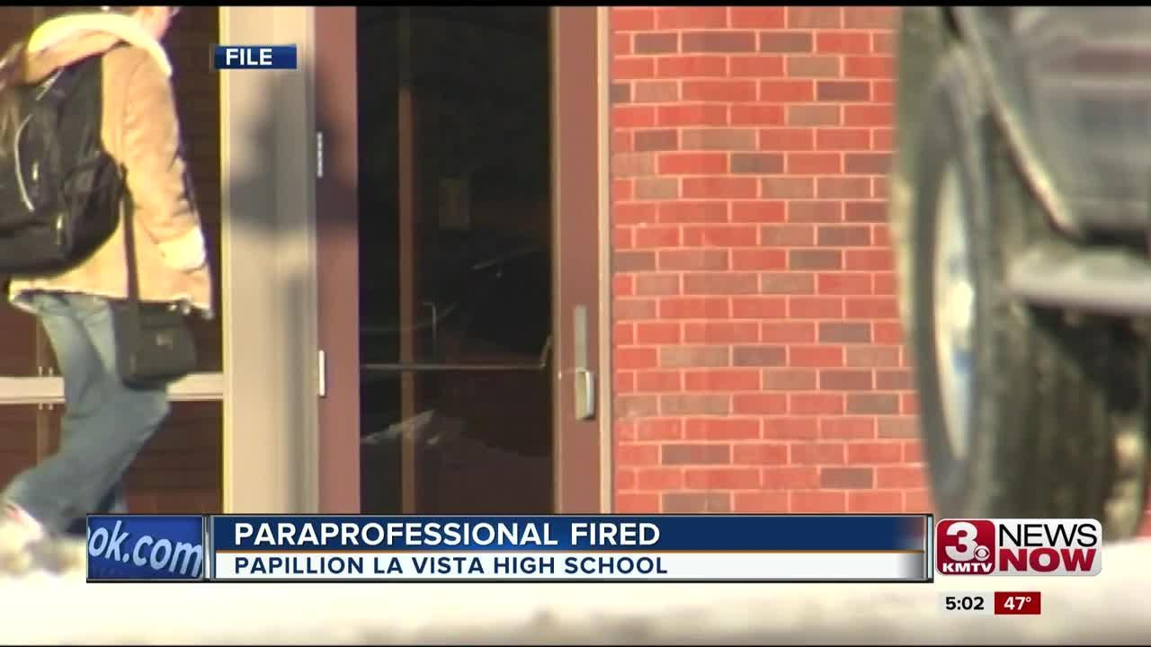 PLHS paraprofessional fired