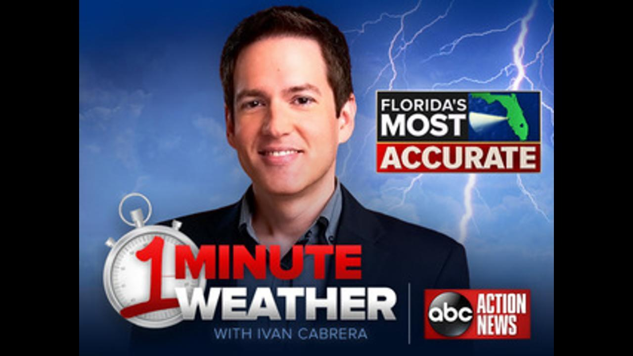 Florida's Most Accurate Forecast with Ivan Cabrera on Saturday, March 25, 2017