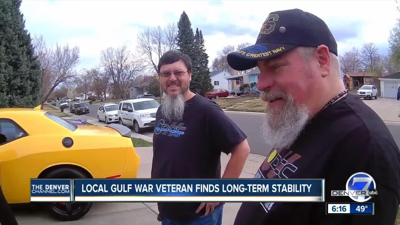 Local Gulf War veteran finds long-term stability