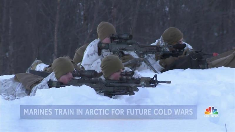 Arctic Marines? An Inside Look at the American Marines Training in the Harshest Elements