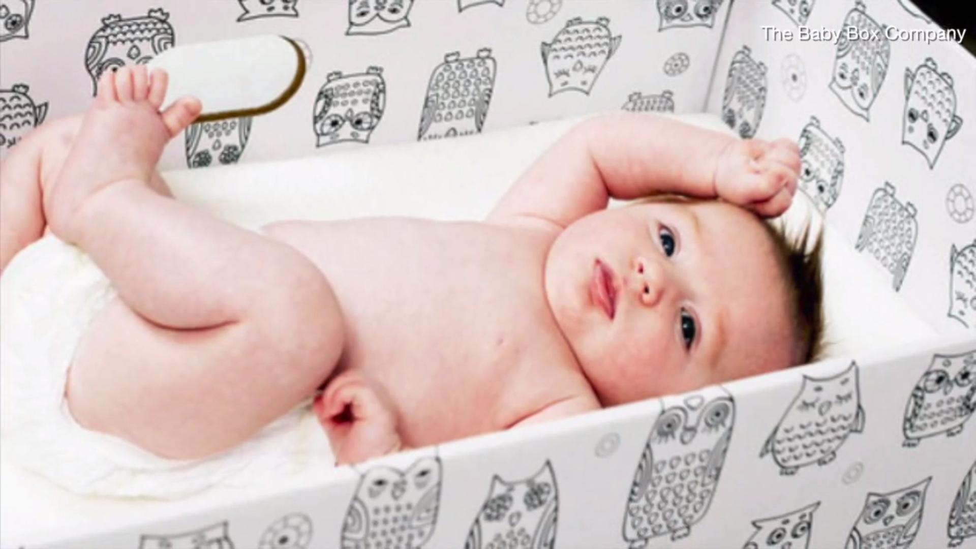 Why Some States Are Giving Out Free 'Baby Boxes'