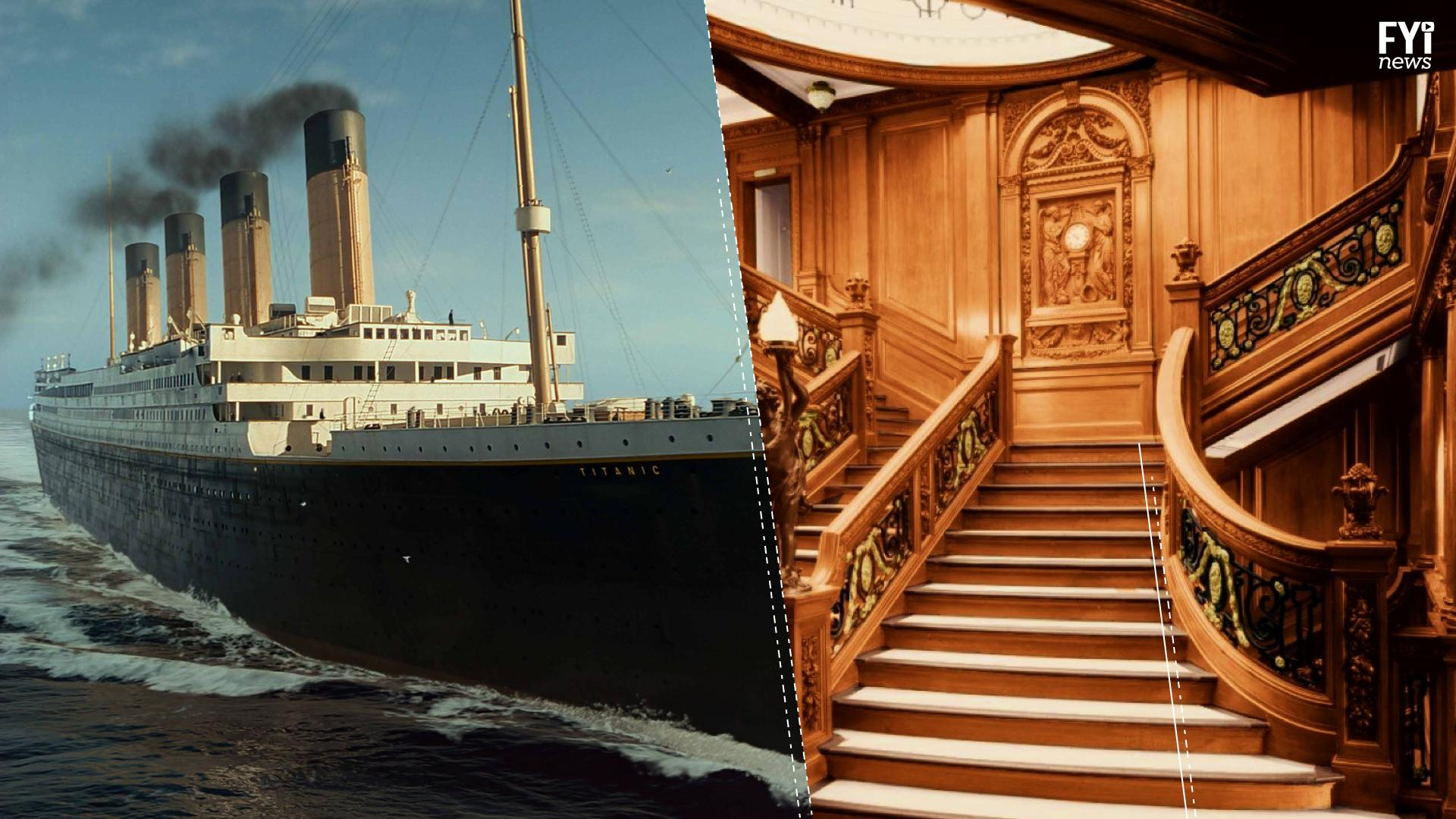 Travel to the deep blue and visit the Titanic