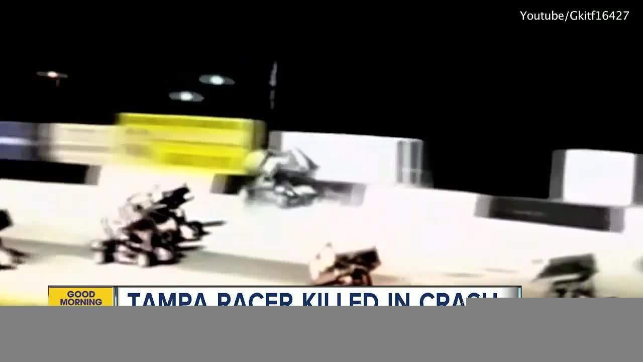 Tampa man killed in sprint car crash at Desoto Speedway