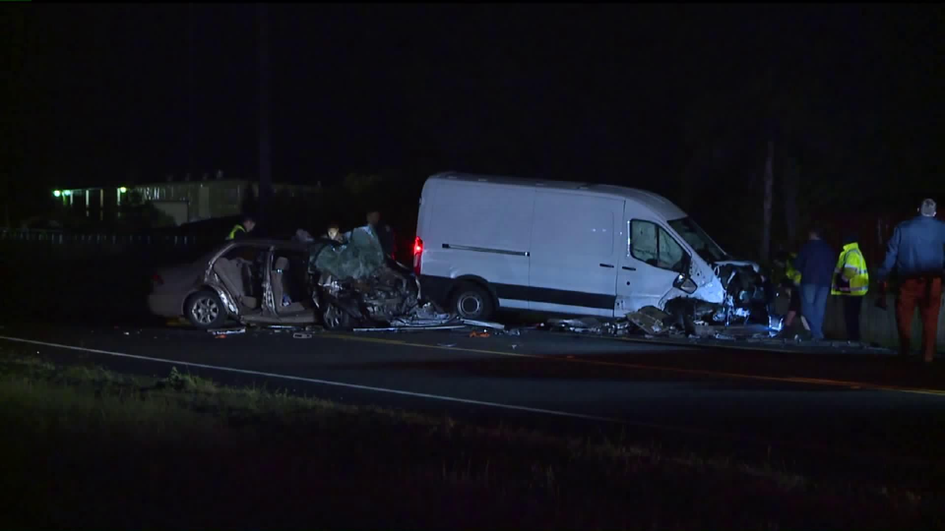 Mother, 10-Year-Old Killed in Head-On Collision; Infant Critically Injured