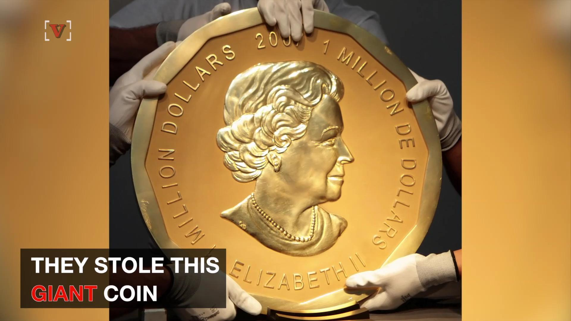 Giant Gold Coin Worth Millions Stolen