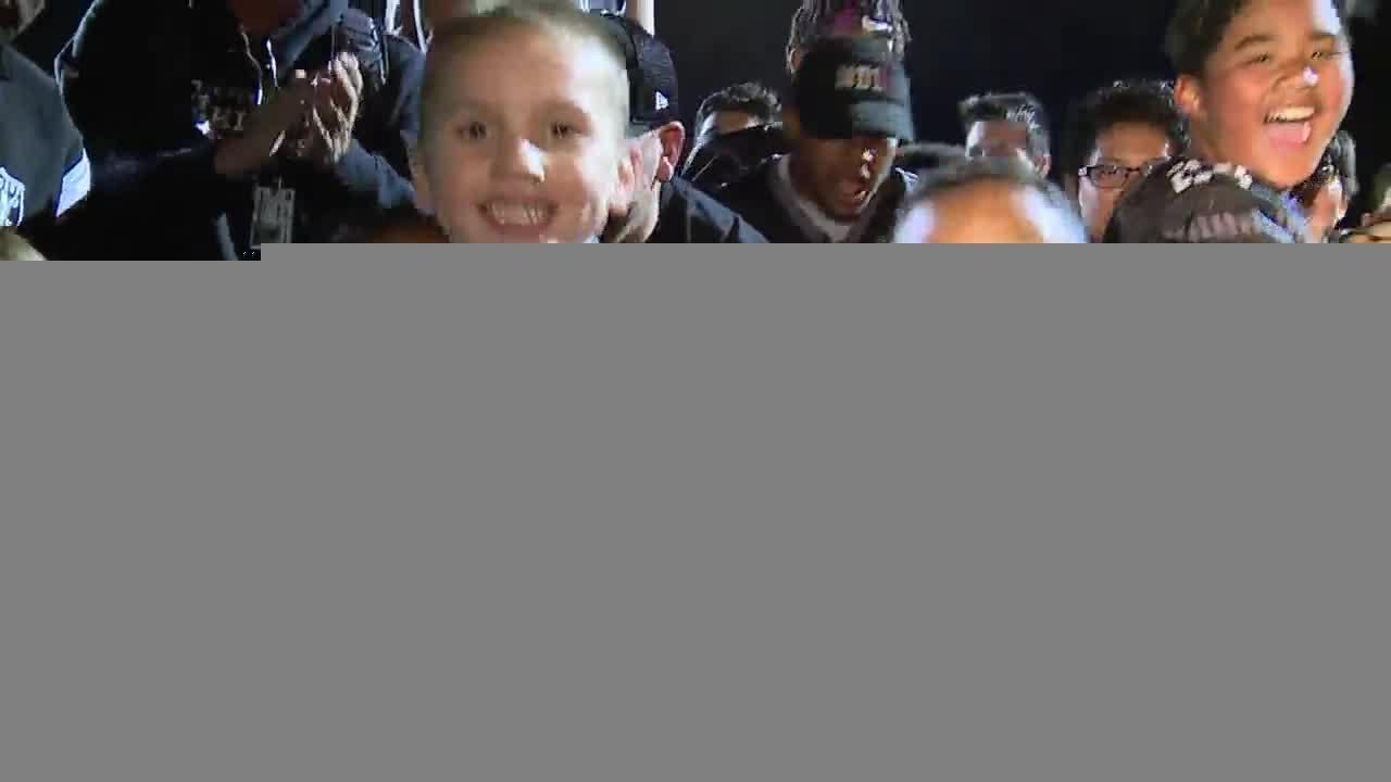 Pint size Raiders excited about team's move to Las Vegas