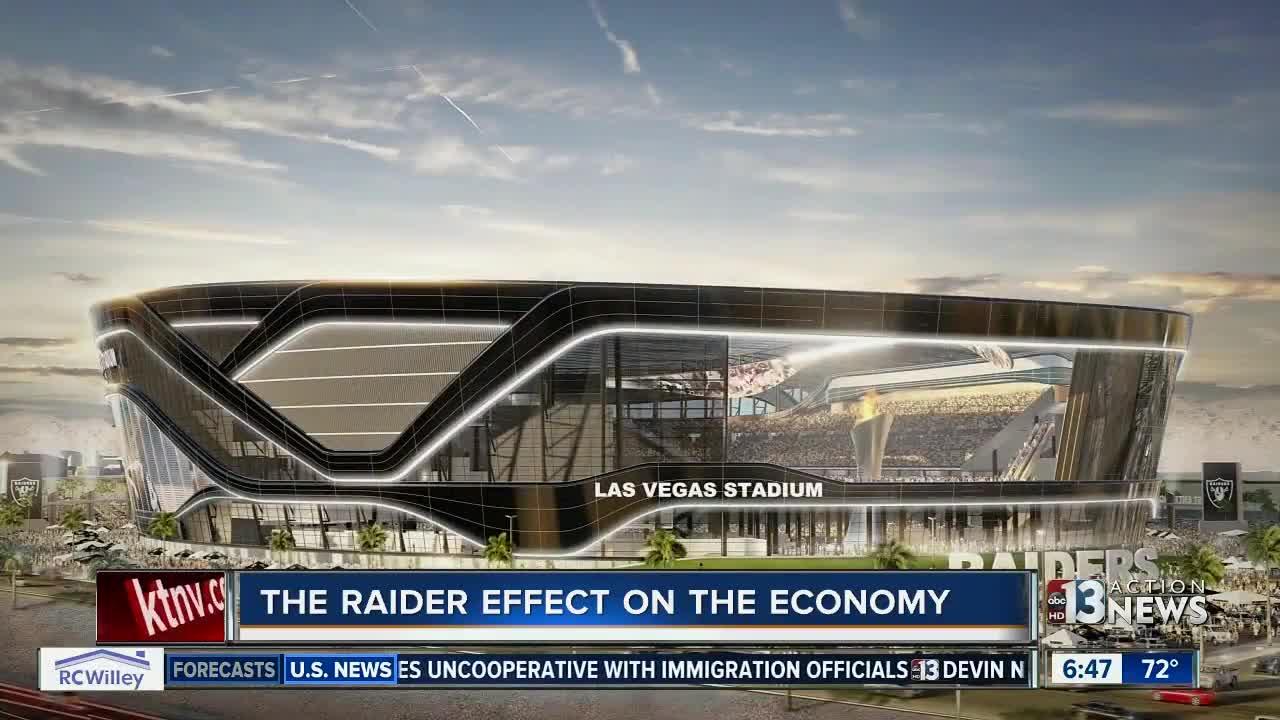 The Raiders effect on the Las Vegas economy