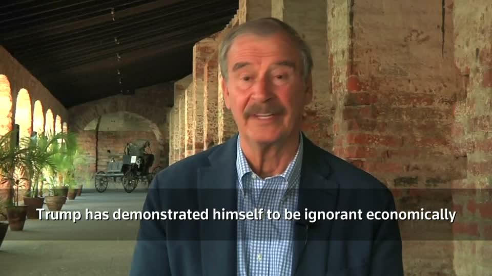 Mexicos former president tears into Donald Trump
