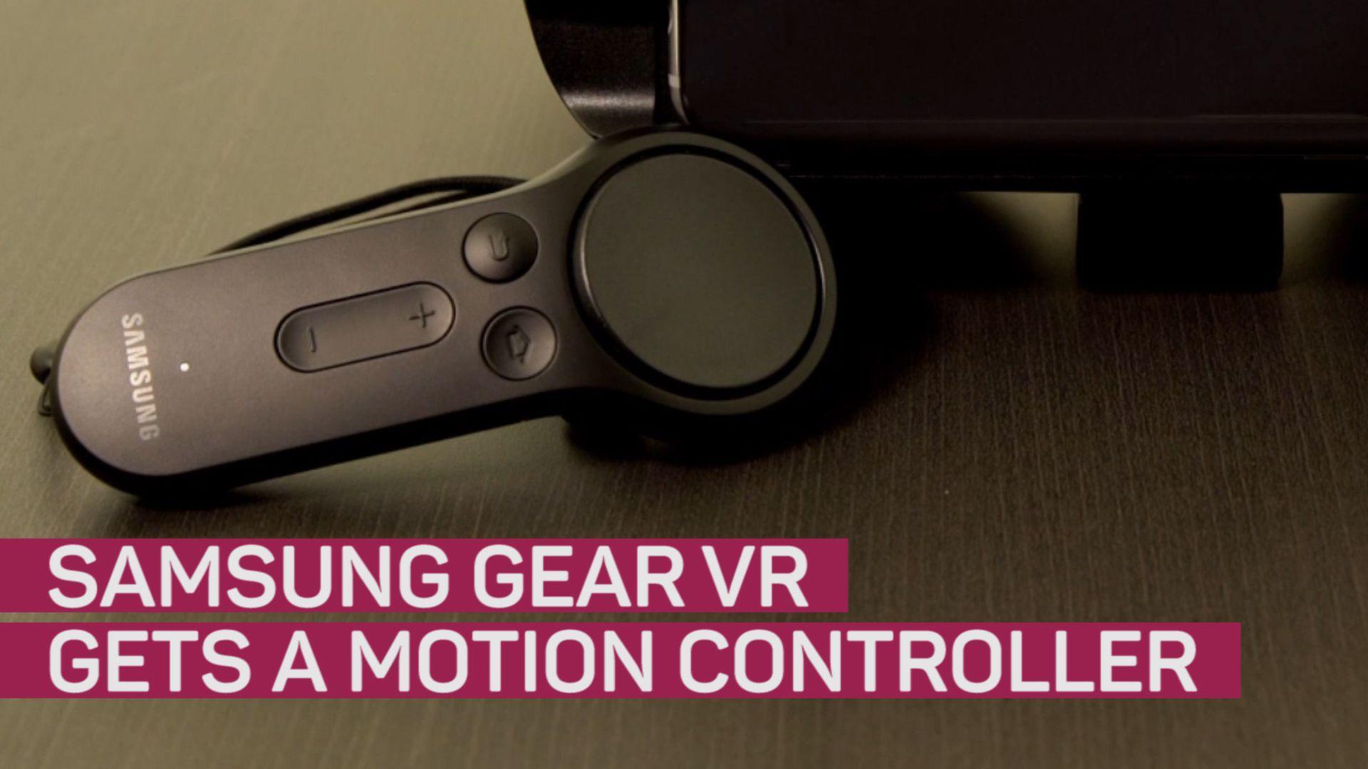 Samsung Gear VR gets a motion controlling sensor