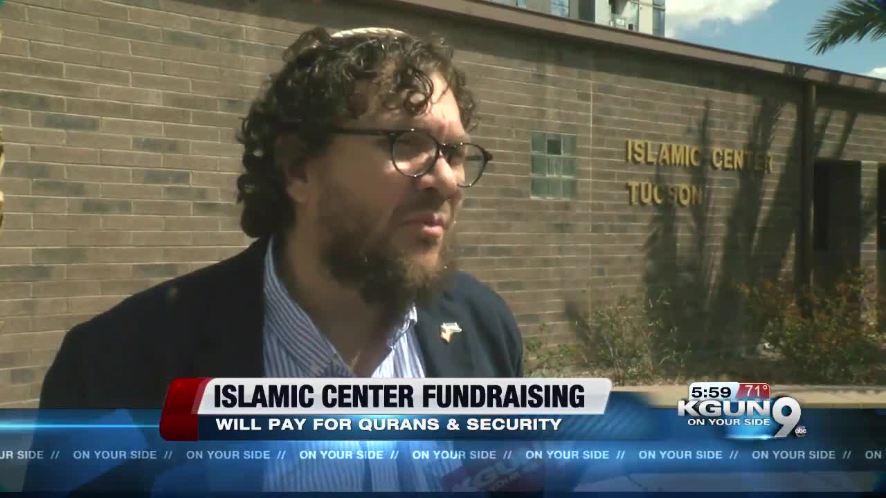 Thousands raised for Islamic Center of Tucson