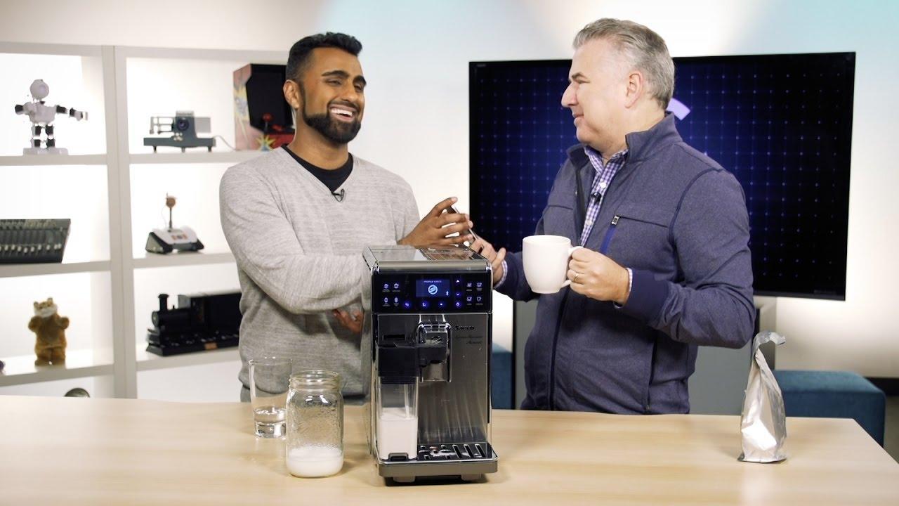 High-end Bluetooth Espresso Machine!