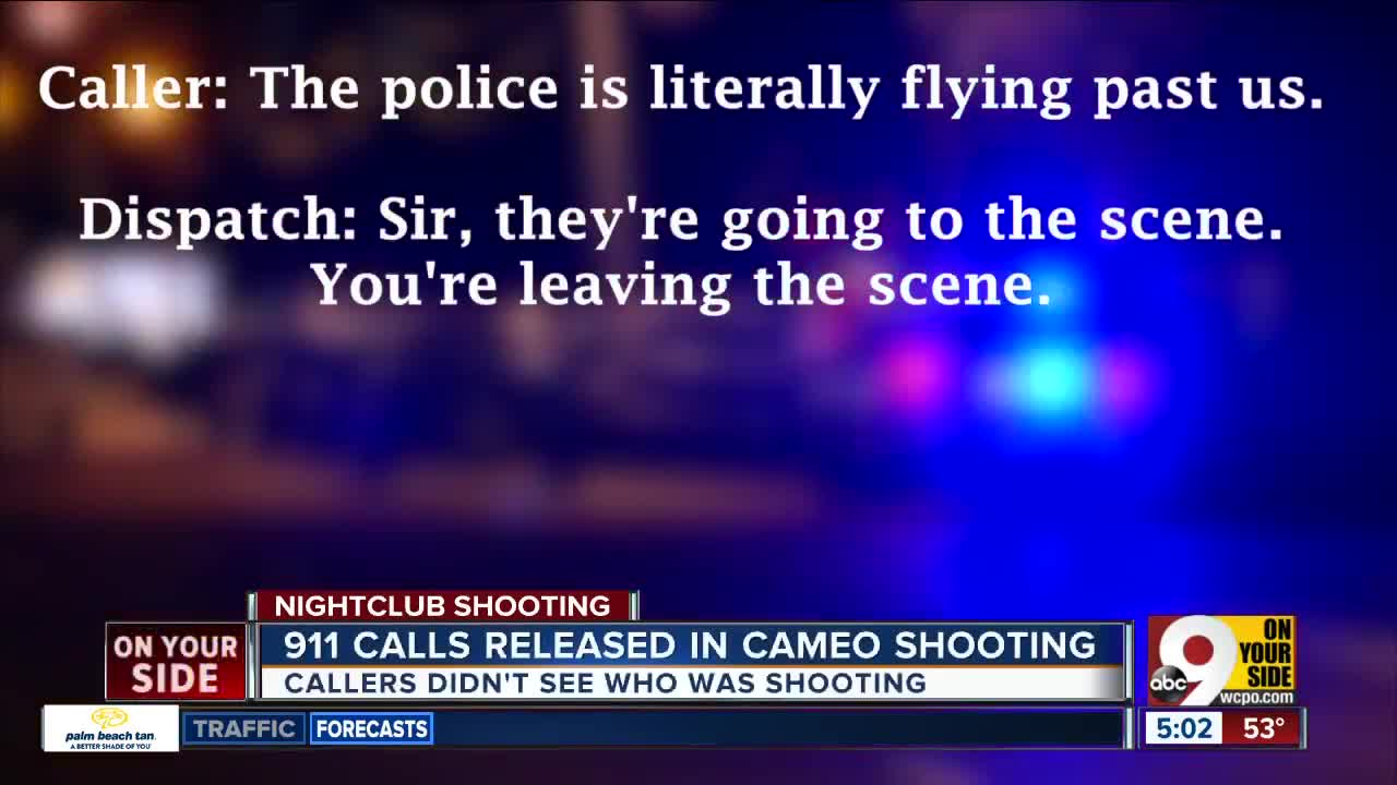 Ten 911 calls released in Cameo shooting