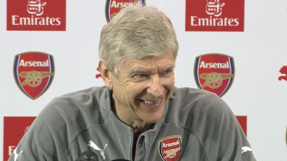 Arsene Wenger deflects questions about his future - not today, he says