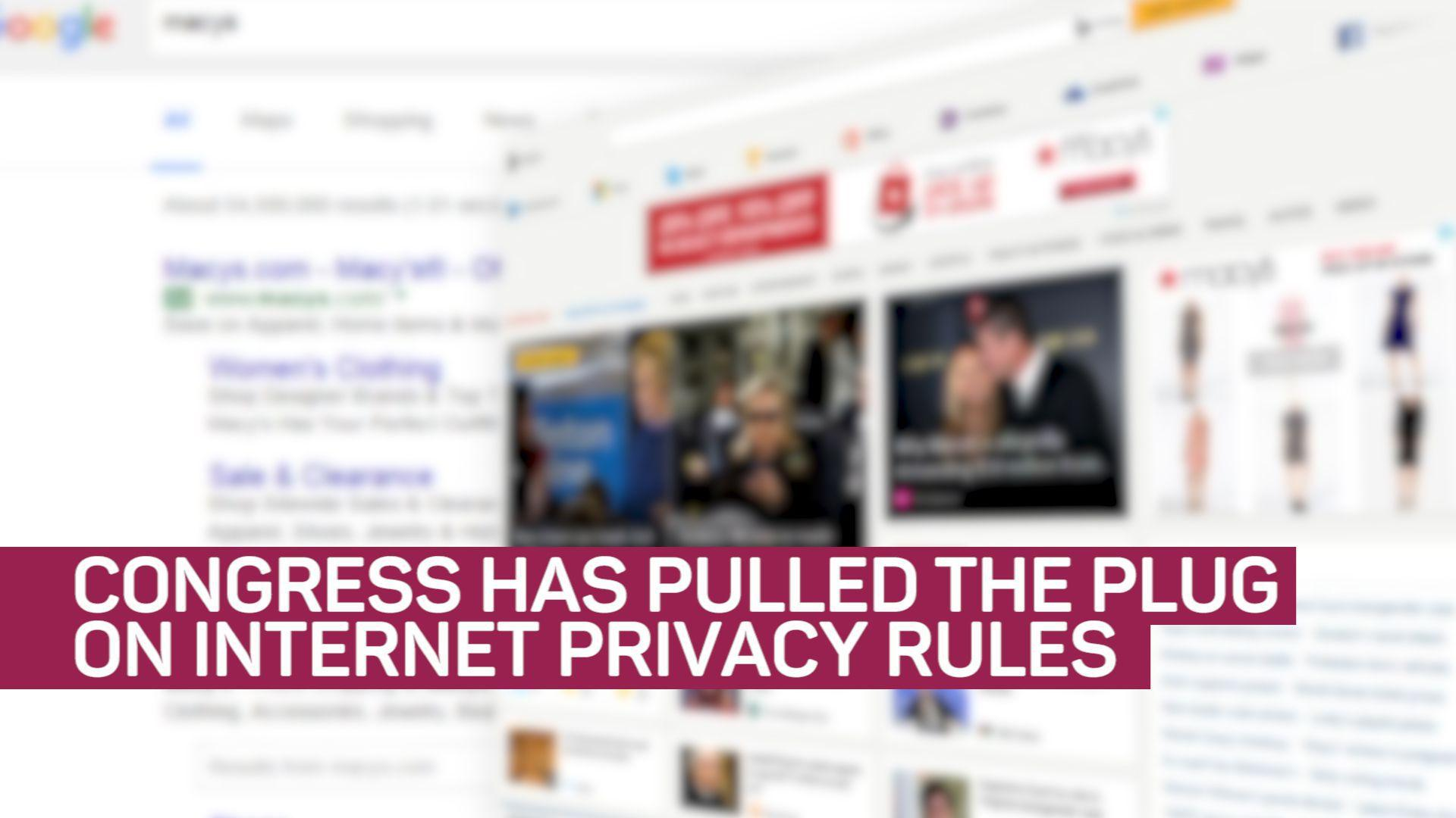 What the repeal of internet privacy rules means to you