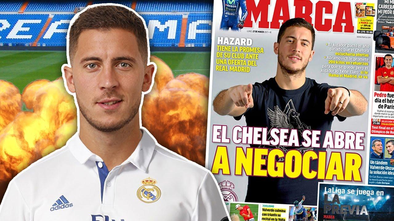 BREAKING: Real Madrid To Break Transfer Record On Eden Hazard For £100 Million?! | Transfer Talk