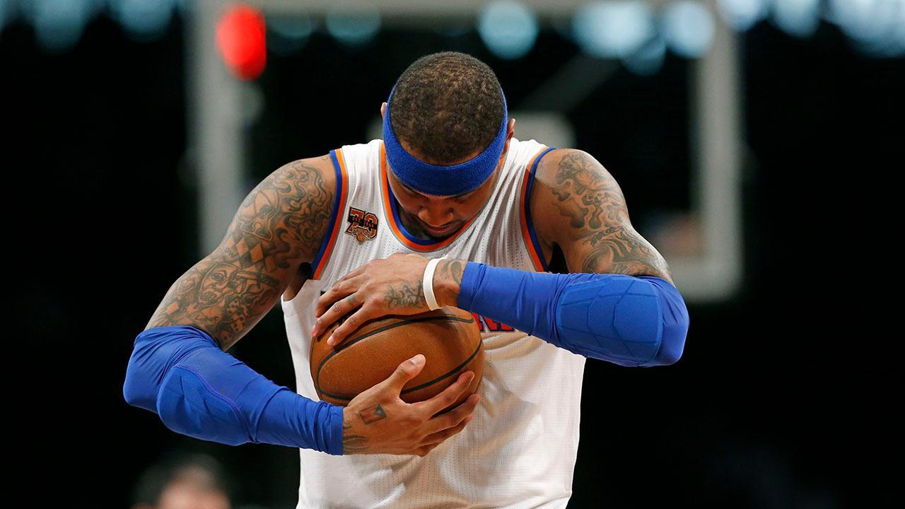 Carmelo Anthony accepts new role with Knicks