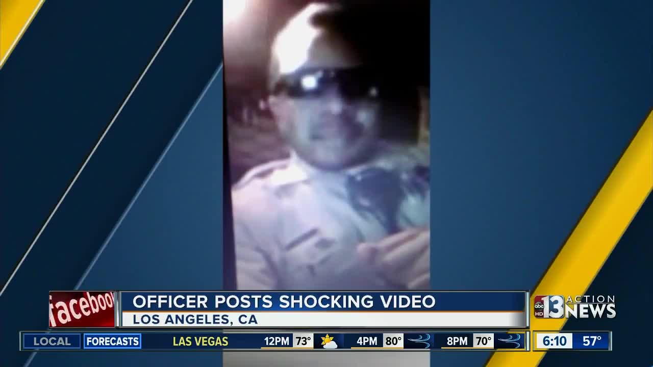 Video of California police officer goes viral