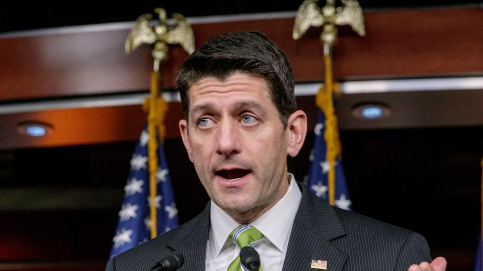 Paul Ryan Not Interested in Working With Democrats