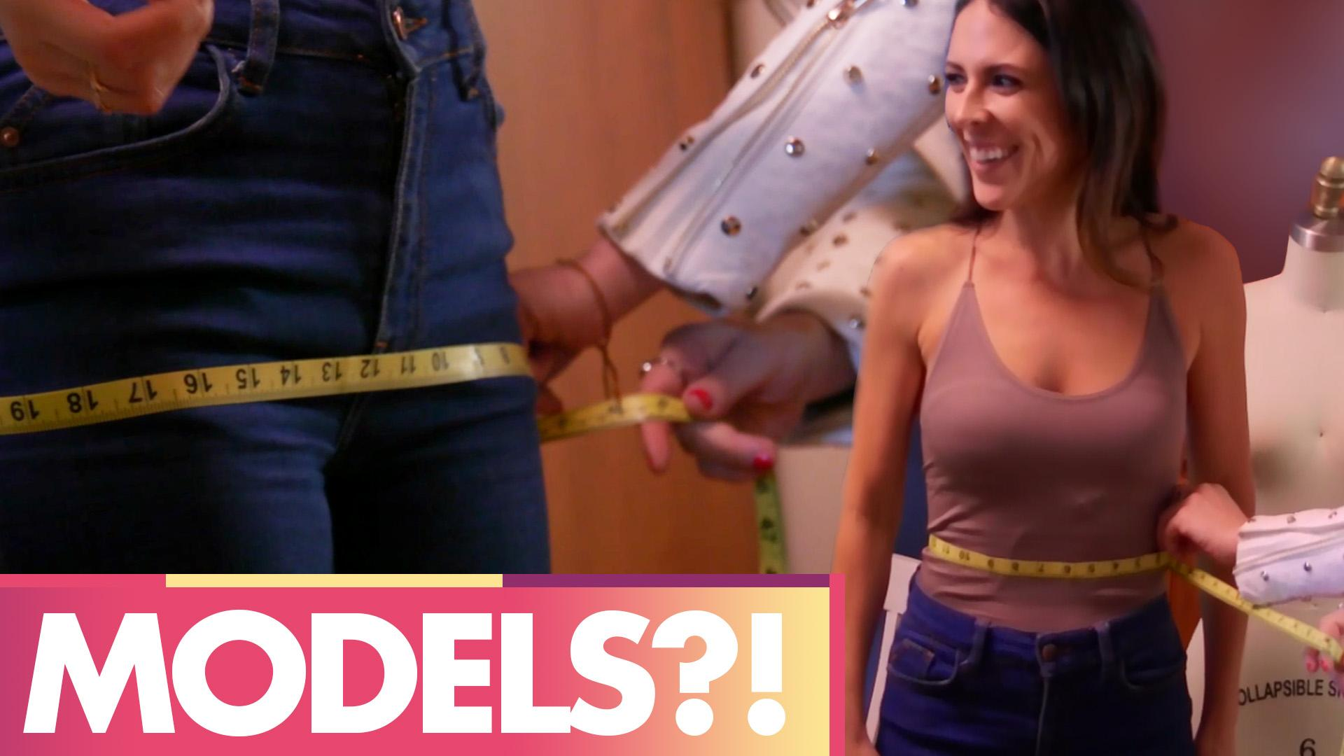 BECOMING FASHION MODELS?!