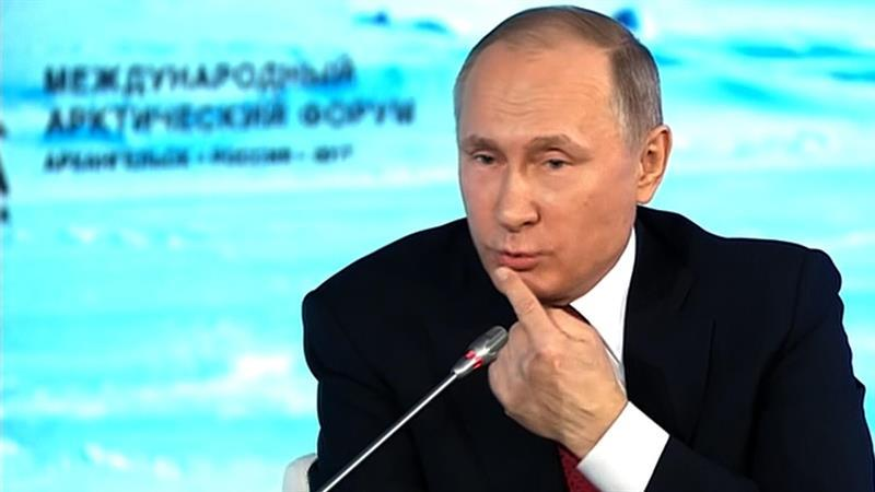 'Watch My Lips' – Putin Confuses Famous U.S. Presidential Quote