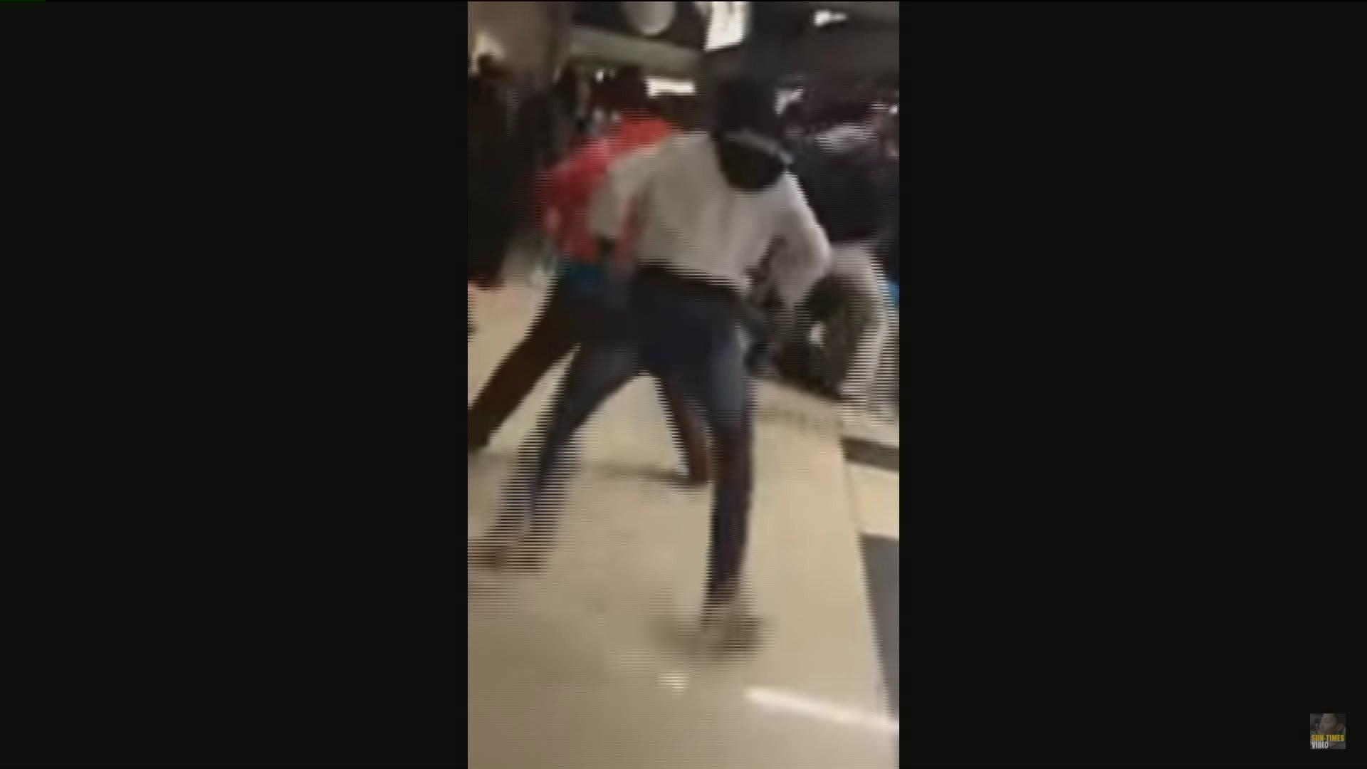 Video Captures Brawl During McDonald's All American Game in Chicago