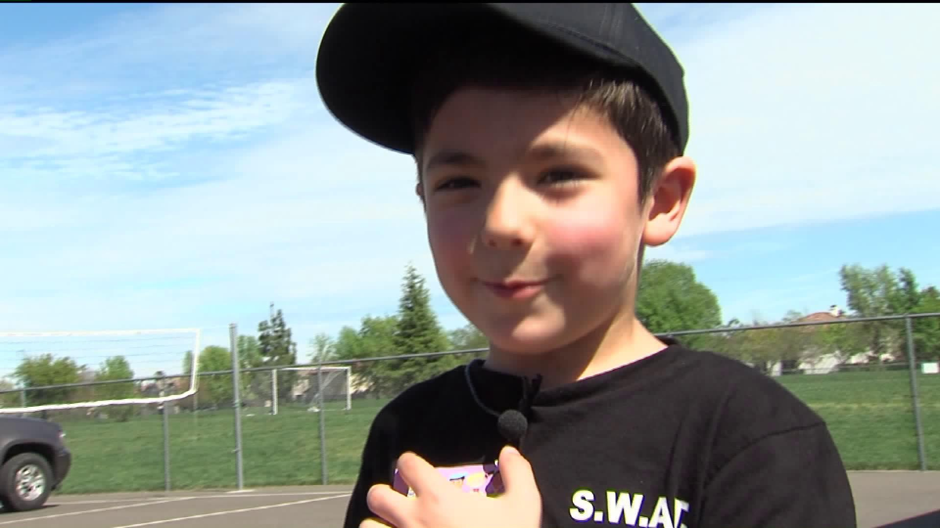 5-Year-Old Boy Lands Dream Job on SWAT Team