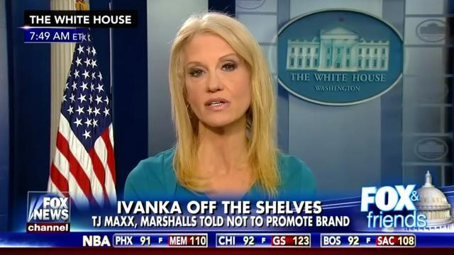 Kellyanne Conway Gets An Award, Many Question If Her Ethics Disqualify Her