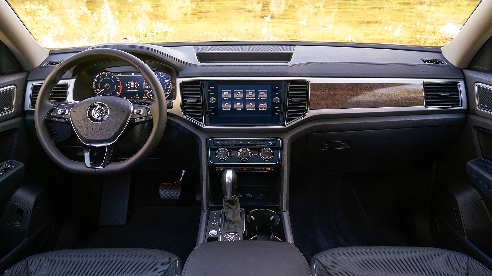 Hummer Models List >> 2018 VW Atlas Digital Cockpit