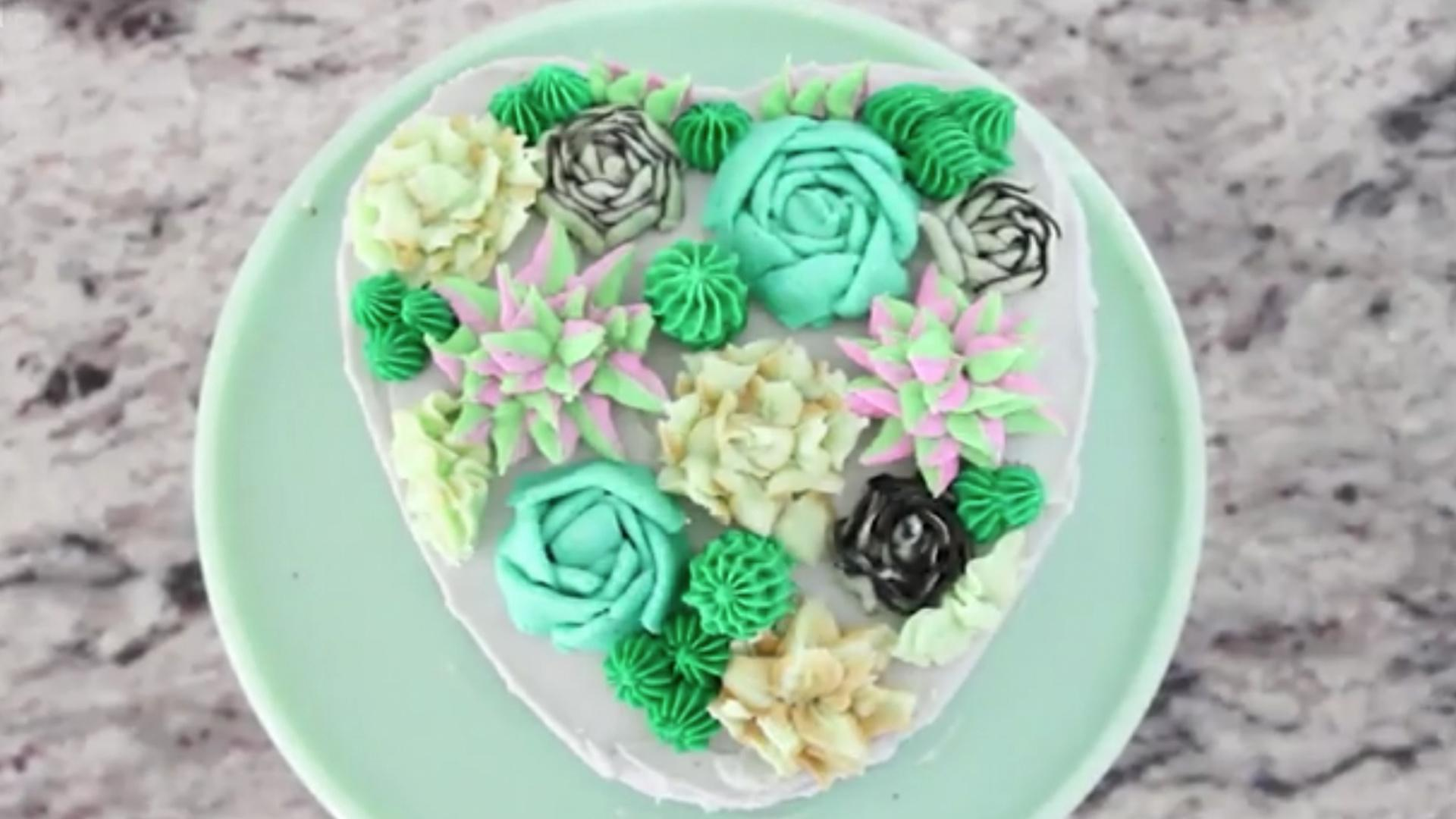 These Succulent Cakes Are the Newest Cake Trend Sweeping Social Media