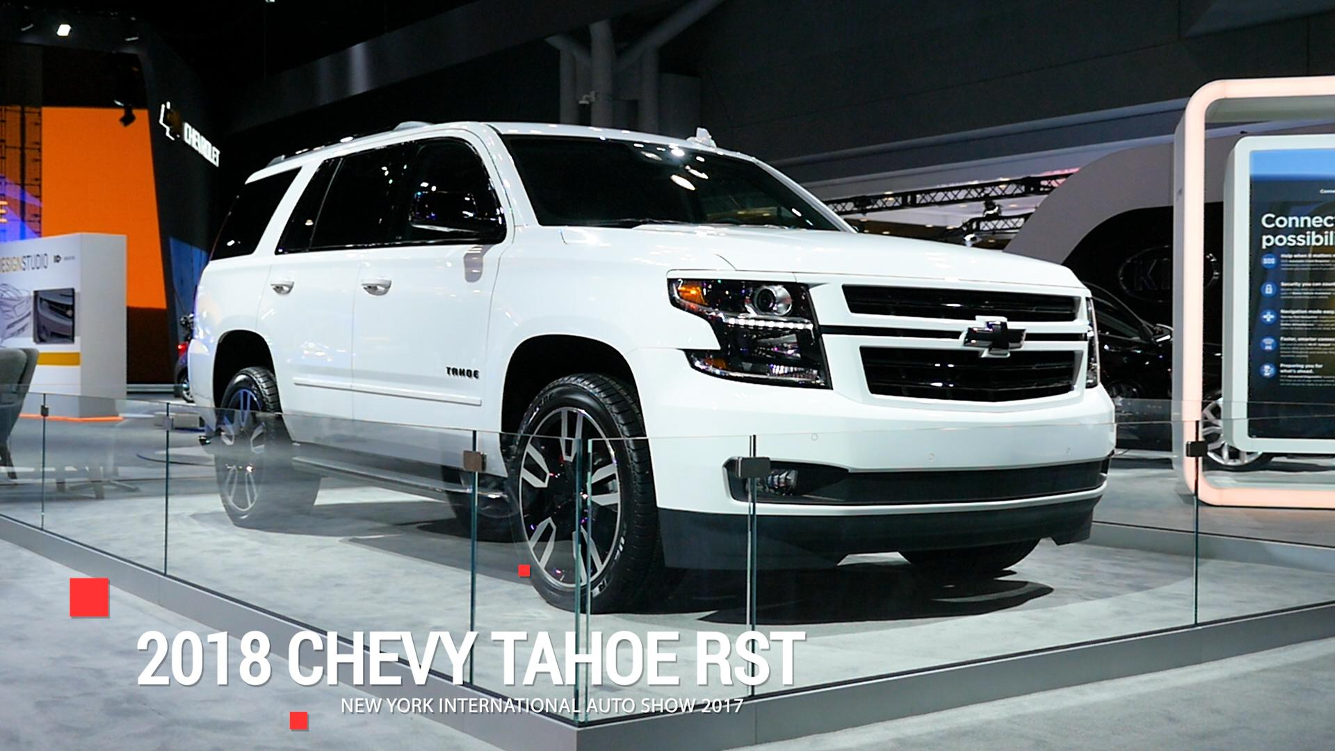 2018 Chevy Tahoe Rst Gets A 420 Horsepower 6 2 Liter V8 Option
