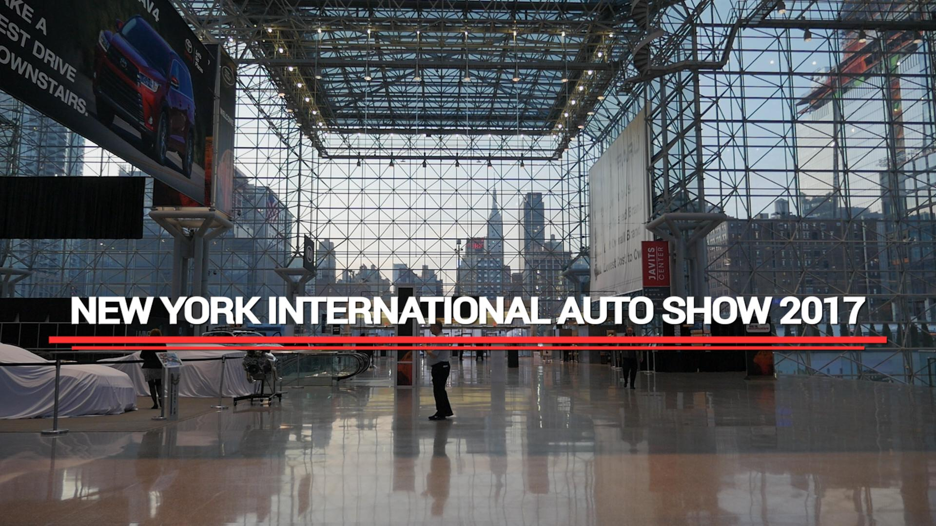 We obsessively covered the 2017 New York Auto Show: Here's a wrapup