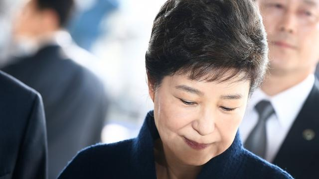 Former South Korean President Park Indicted for Bribery