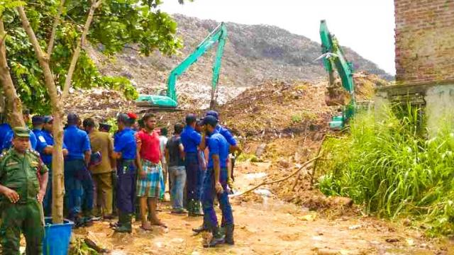 10 People Still Missing in Sri Lanka Garbage Dump Collapse