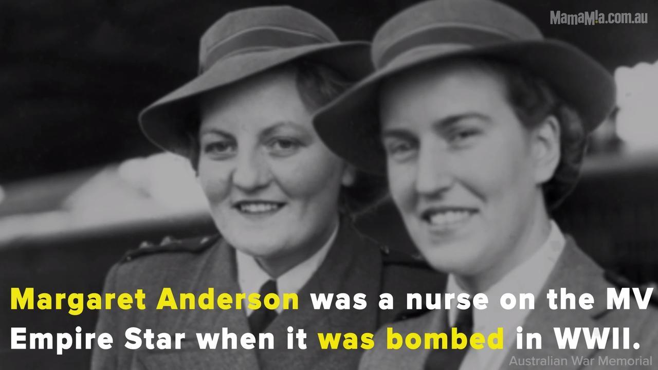 Margaret Anderson was a nurse on the MV Empire Star when the ship was bombed by Japanese forces.