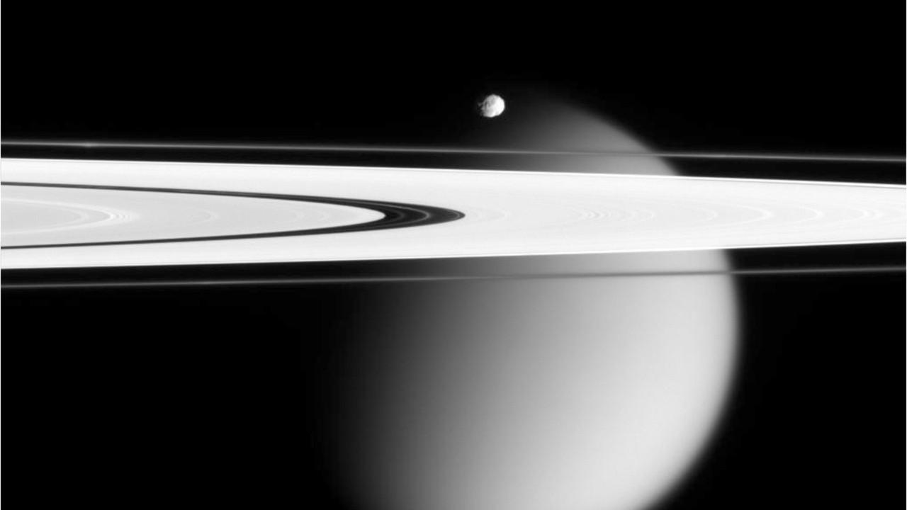 U.S. Cassini On Final Leg Of Saturn Mission: The Rings