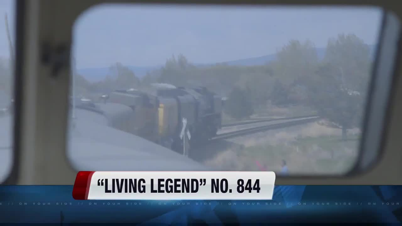 "Full steam ahead! ""Living legend"" no. 844 arrives in Boise"