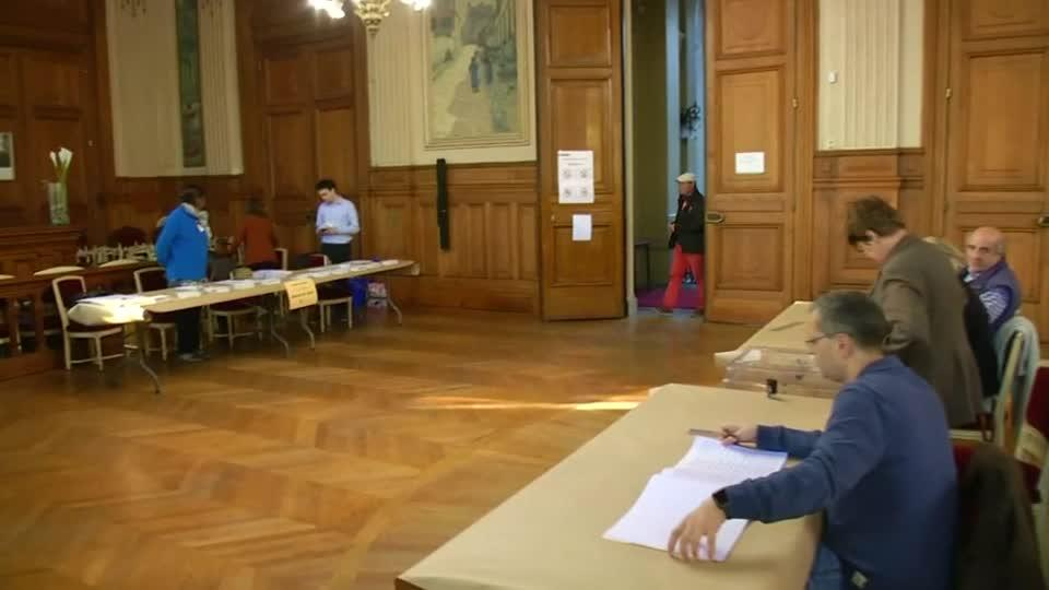 Voting underway in France's presidential election