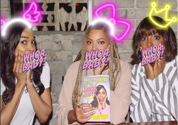 Destiny's Child reunites for Kelly Rowland's book launch