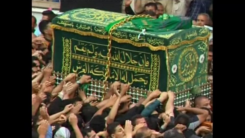 Shi'ite pilgrims in Baghdad mark death of Imam Moussa al-Kadhim